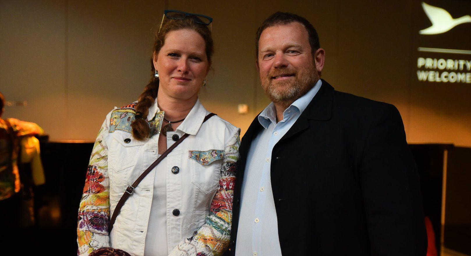 GeschäftsführerIn Nora Halbgebauer-Kunz und Michael Kunz